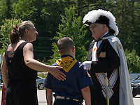 Flag Day ceremony at Elks Lodge in Gilford.  Karen Bobotas for the Laconia Daily Sun