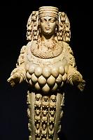 Turquie, province d'Izmir, ville de Selcuk, site archéologique d'Ephese, statue d'Artemis au musée // Turkey, Izmir province, Selcuk city, archaeological site of Ephesus, Artemis statue at museum