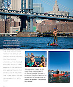 Paddling the 5 Boroughs of New York Feature for SUP Magazine<br />