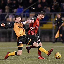 Annan Athletic v Elgin City, Scottish League Two, 5 January 2019