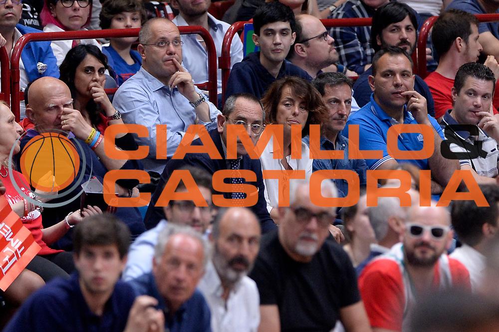 DESCRIZIONE : Milano Lega A 2015-2016 Playoff Finale Gara 1 EA7 Emporio Armani Milano Grissin Bon Reggio Emilia<br /> GIOCATORE : Egidio Bianchi<br /> CATEGORIA : vip<br /> SQUADRA : <br /> EVENTO : Campionato Lega A 2015-2016<br /> GARA : EA7 Emporio Armani Milano Grissin Bon Reggio Emilia<br /> DATA : 03/06/2016<br /> SPORT : Pallacanestro<br /> AUTORE : Agenzia Ciamillo-Castoria/Max.Ceretti<br /> GALLERIA : Lega Basket A 2015-2016<br /> FOTONOTIZIA : Milano Lega A 2015-2016 Playoff Finale Gara 1 EA7 Emporio Armani Milano Grissin Bon Reggio Emilia<br /> PREDEFINITA :