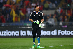 May 9, 2018 - Rome, Italy - Gianluigi Buffon of Juventus at Olimpico Stadium in Rome, Italy on May 9, 2017  during the TIM Cup Final between Juventus and AC Milan  (Credit Image: © Matteo Ciambelli/NurPhoto via ZUMA Press)