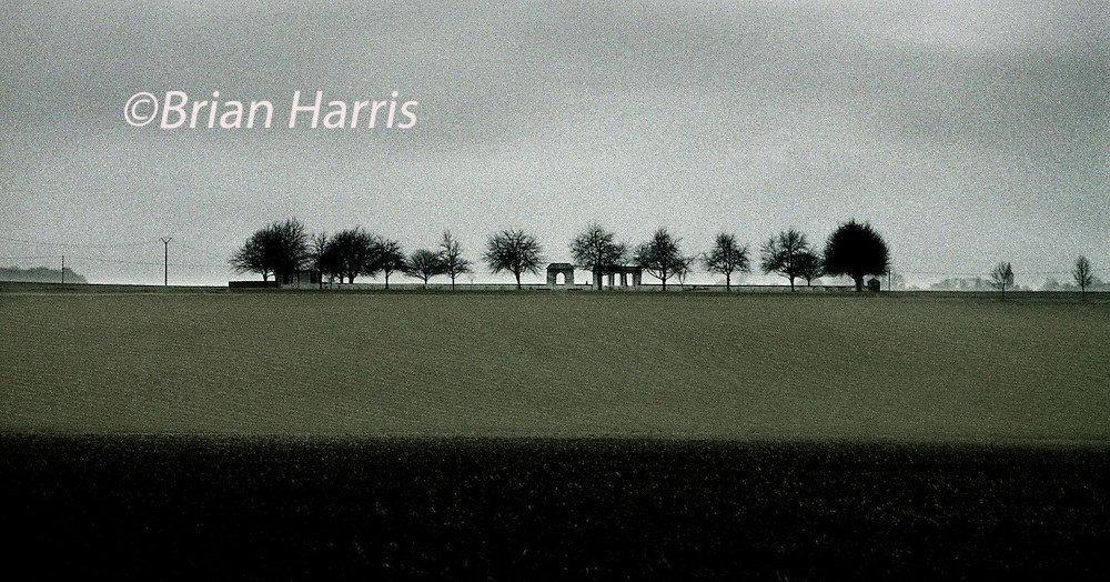 CATERPILLAR VALLEY CEMETERY, THE SOMME BTTLEFIELD, FRANCE..COPYRIGHT OWNED PHOTOGRAPH BY BRIAN HARRIS.NO UNAUTHORISED USAGE