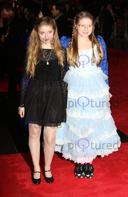 LONDON - OCTOBER 21: Bebe Cave; Jessie Cave attended the European Film Premiere of 'Great Expectations' at the Odeon Leicester Square, London, UK. October 21, 2012. (Photo by Richard Goldschmidt)