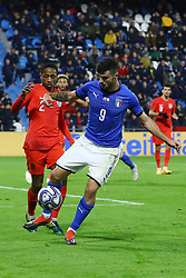 PATRICK CUTRONE (ITALY)     <br /> Football friendly match Italy vs England u21<br /> Ferrara Italy November 15, 2018<br /> Photo by Filippo Rubin
