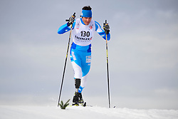 ROBLEDO Pablo Javier, ARG at the 2014 IPC Nordic Skiing World Cup Finals - Middle Distance