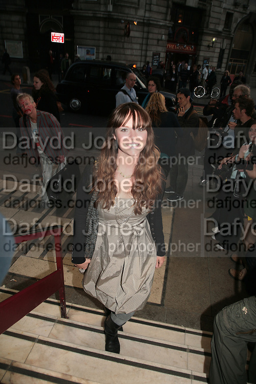 Charlie Brooks, Cast change for Wicked. Apollo Victoria theatre. After party at Park Plaza Victoria. 12 April 2007.  -DO NOT ARCHIVE-© Copyright Photograph by Dafydd Jones. 248 Clapham Rd. London SW9 0PZ. Tel 0207 820 0771. www.dafjones.com.