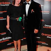 NLD/Noordwijk/20110625 - Orange Babies Gala 2011, Humberto tan en partner Ineke Geenen