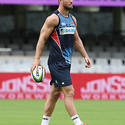 Rob Horne of the NSW Waratahs during the NSW Waratahs Cap Run at  Growthpoint Kings Park Durban , South Africa. March 9th 2017(Photo by Steve Haag)<br /> <br /> images for social media must have consent from Steve Haag