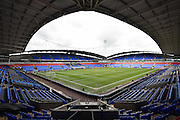 The Macron Stadium before the Sky Bet Championship match between Bolton Wanderers and Hull City at the Macron Stadium, Bolton, England on 30 April 2016. Photo by Mark Pollitt.
