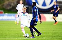Fotball , 5. mai 2014 , Eliteseriene , Tippeligaen , Stabæk - Vålerenga<br /> Enock Kofi Adu , Stabæk<br /> Herman Stengel , VIF