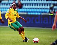 Fotball , 10. oktober 2009 , Privatkamp , Norge - Sør-Afrika<br /> Norway - South-Africa 1-0<br /> <br /> Kagisho Dikgacoi  , Sør-Afrika
