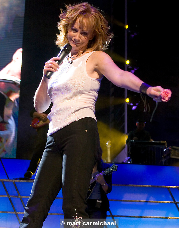 Reba McEntire performs live in Concert at Chicago's Tweeter Center.