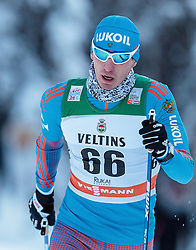 27.11.2016, Nordic Arena, Ruka, FIN, FIS Weltcup Langlauf, Nordic Opening, Kuusamo, Herren, im Bild Evgeniy Belov (RUS) // Evgeniy Belov of Russian Federation during the Mens FIS Cross Country World Cup of the Nordic Opening at the Nordic Arena in Ruka, Finland on 2016/11/27. EXPA Pictures © 2016, PhotoCredit: EXPA/ JFK