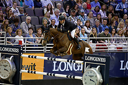 Duguet Romain, SUI, Twentytwo Des Biches<br /> Longines FEI World Cup Jumping Final III, Omaha 2017 <br /> © Hippo Foto - Dirk Caremans<br /> 02/04/2017