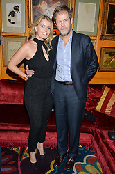 LADY KITTY SPENCER and NICCOLO BARATTIERI DI SAN PIETRO at an exclusive performance by Mark Ronson at Annabel's, Berkeley Square, London on 2nd March 2016.