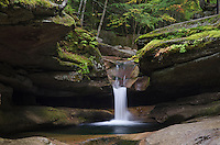 Sabbaday Falls, White Mountains, New Hampshire