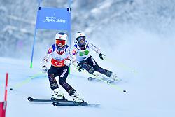 Women's Giant Slalom, FARKASOVA Henrieta, Guide: SUBRTOVA Natalia, B3, SVK at the WPAS_2019 Alpine Skiing World Championships, Kranjska Gora, Slovenia