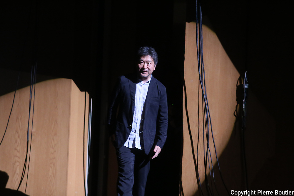 June 21,2018 , French film festival at Yokohama, director Hirokazu Kore-Eda Palme d'or 2018 awarded. For his movie Shoplifters  attend French film festival at Yokohama. Pierre Boutier