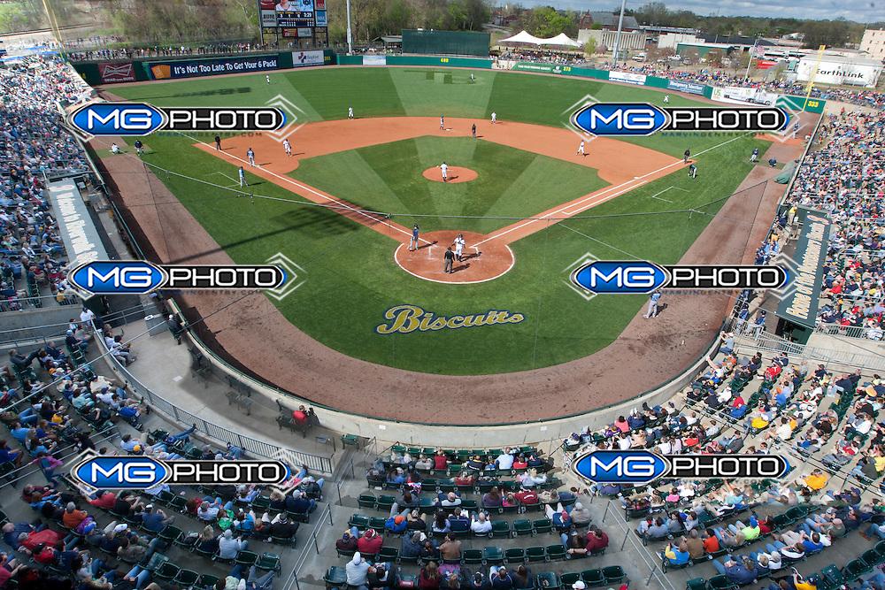 Mar 29, 2014; Birmingham, Al, USA;  at Riverwalk Stadium. Mandatory Credit: Marvin Gentry