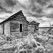 Homestead cabin between Anatone and Asotin, Washington. SE corner of Washington State.
