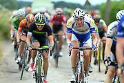 BELGIUM / BELGIE / BELGIQUE / CYCLING / WIELRENNEN / CYCLISME / UCI EUROPE TOUR / NAPOLEON GAMES CYCLING CUP / DWARS DOOR HET HAGELAND / FROM AARSCHOT TO DIEST / 197,7 KM / BEVEKOMSESTRAAT IN BIERBEEK (STROOK 1) / DECLERCQ TIM (TOPSPORT VLAANDEREN - BALOISE)