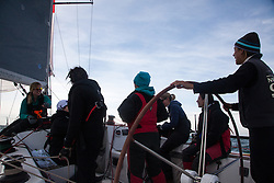 An all womens boat, Southern Child, races in the 2013 RORC Morgans Cup