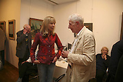 PENELOPE TREE AND SIR JONATHAN MILLER. Celebrating George Melly at 80: Aspects of his Collection. The Mayor Gallery. Cork St. London. 17 August 2006. ONE TIME USE ONLY - DO NOT ARCHIVE  © Copyright Photograph by Dafydd Jones 66 Stockwell Park Rd. London SW9 0DA Tel 020 7733 0108 www.dafjones.com