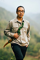 A portrait of Daniel Nguyen from Song Cai Distillery.