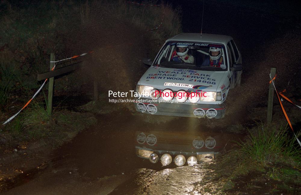 #179, Tony Clements, Cyril Dack, Peugeot 309 GTI, Peugeot Talbot Sport,