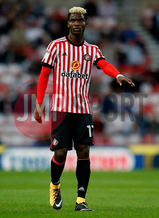 Didier Ndong of Sunderland - Mandatory by-line: Matt McNulty/JMP - 04/08/2017 - FOOTBALL - Stadium of Light - Sunderland, England - Sunderland v Derby County - Sky Bet Championship