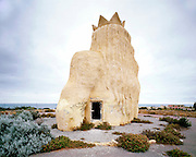 King Neptune, Western Australia 2004.<br /> Wastelands is a journey into abandoned and transient spaces in Australia and Europe. Over a number of years I&rsquo;ve travelled with a large format camera to record some of the unusual ways that buildings decline, and the more unusual ways that space is reordered. <br /> <br /> A common practice is to transform abandoned industrial sites into modern centres of consumption. Old industrial centres often find new life as shopping centres. But family fun parks in abandoned nuclear power stations and the prospect of a European wilderness in Chernobyl reveal that landscape is never a finished project, nor what we always expect.<br /> <br /> Large format photography has had a long association with architecture and landscape. It expands detail and corrects perspective, often recording more than we can actually see, compelling us to look longer.