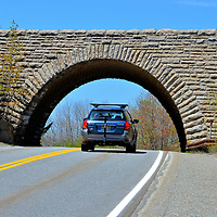 Scenic Drive on Mount Desert Island, Maine<br />