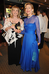 Left to right, LADY ASHCROFT and CHRISTINE ST.GEORGE at a n evening of private shopping in aid of Elizabeth Fitzroy Support at Tiffany & Co, 145 Sloane Street, London on 14th May 2008.<br /><br />NON EXCLUSIVE - WORLD RIGHTS