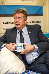 EMBARGOED UNTIL 00:01 2 APRIL 2017<br /> <br /> Pictured: Keith Brown, MSP<br /> During his visit to the Lothians Veteran Centre in Dalkeith on Friday 31 March, Veterans Secretary Keith Brown  announced the successful applicants to the 2017 Scottish Veterans Fund.<br /> The Lothians Veteran Centre provides a person-centred support service for ex-service personnel and their families across Lothians, including projects relating to housing, benefits &amp; welfare, and employment, education and training support.<br /> <br /> Ger Harley | EEm 31 March 2017