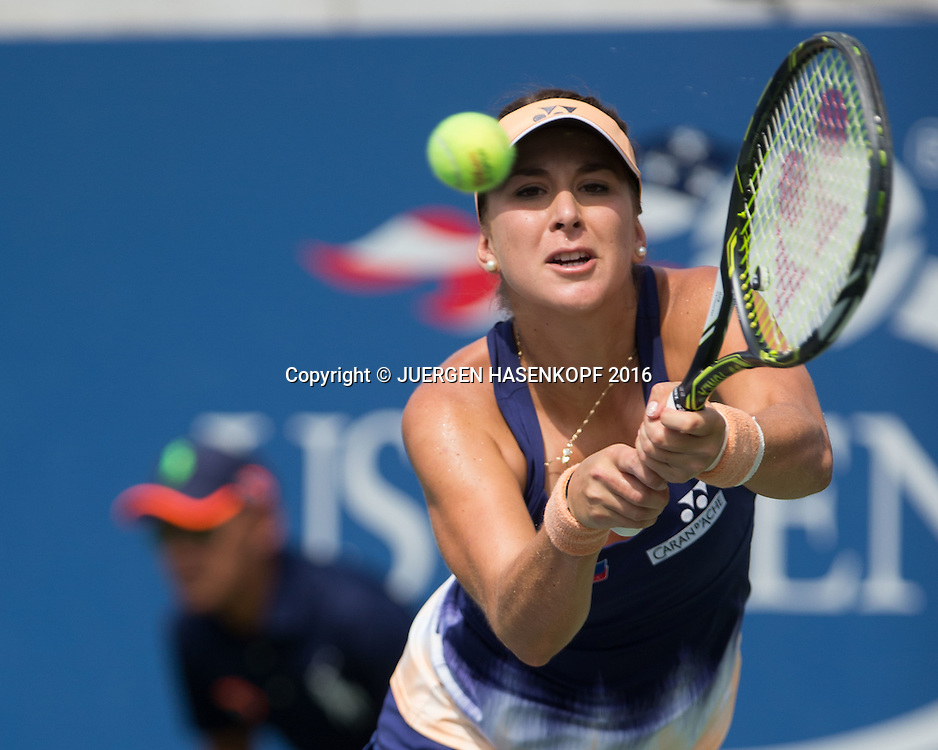 BELINDA BENCIC (SUI)<br /> <br /> Tennis - US Open 2016 - Grand Slam ITF / ATP / WTA -  USTA Billie Jean King National Tennis Center - New York - New York - USA  - 31 August 2016.