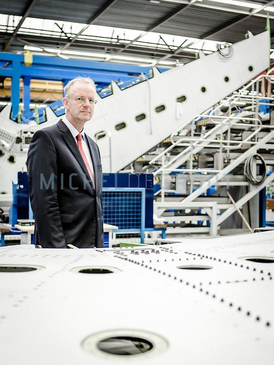 Hans Buetker, CEO van Fokker Aerostructures in Papendrecht