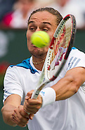 Tennis: BNP Paribas Open 2014 Alexandr Dolgopolov vs Milos Raonic