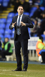 Wigan Athletic Manager, Malky Mackay on the side line at the Madejski Stadium during the Sky Bet Championship clash with Reading - Photo mandatory by-line: Paul Knight/JMP - Mobile: 07966 386802 - 17/02/2015 - SPORT - Football - Reading - Madejski Stadium - Reading v Wigan Athletic - Sky Bet Championship