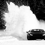 Lamborghini Winter Accademia - Lake Sacacomie Quebec