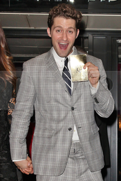 © London News Pictures. 25/06/2013. London, UK.  Matthew Morrison at the Charlie and the Chocolate Factory - Opening Night After Party . Photo credit: Brett D. Cove/LNP