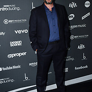 Charles Caldas arrives at the AIM Independent Music Awards at the Roundhouse on 3 September 2019, Camden Town, London, UK.