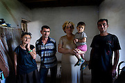 Balayan family, an Armenian family forced to flee from their home in Baku during the fight for Nagorno Karabakh.  Now living in the villiage of Hovsepavan, Nagorno-Karabakh.  Both Mira's sons, Serge and Edward fought in the war from 1989 - 1992..Image © Arsineh Houspian/Falcon Photo Agency.