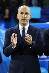 Luigi Di Biagio (Italy's trainer)<br /> Football friendly match Italy vs England u21<br /> Ferrara Italy November 15, 2018<br /> Photo by Filippo Rubin
