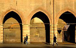 Early morning at the Town Hall (Comune di Bologna), Bologna, Italy<br /> <br /> (c) Andrew Wilson | Edinburgh Elite media