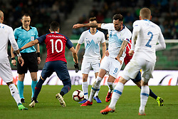 Dervisevic Amir of Slovenia during football match between National Teams of Slovenia and Norway in Final Tournament of UEFA Nations League 2019, on November 16, 2018 in SRC Stozice, Ljubljana, Slovenia. Photo by Urban Urbanc / Sportida