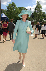 LADY ELIZABETH ANSON at the 3rd day - Ladies Day of Roayl Ascot 2006 on 22nd June 2006.<br />