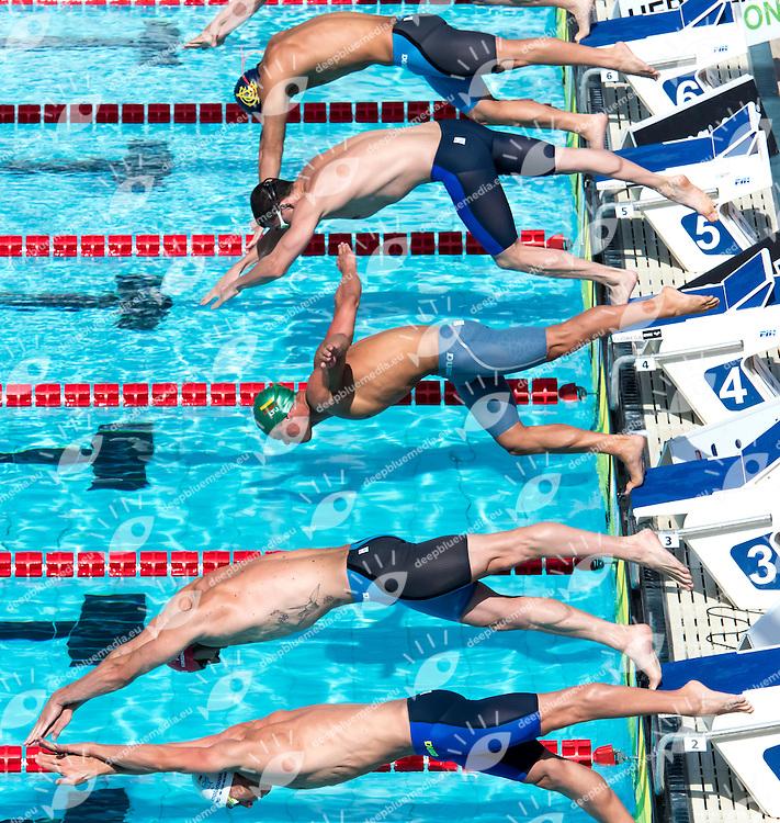 50m Butterfly Men Start <br /> Roma 26-06-2016 Foro Italico <br /> Nuoto 53mo trofeo Settecolli <br /> Swimming 53rd Settecolli Trophy<br /> Photo Andrea Staccioli/Deepbluemedia/Insidefoto