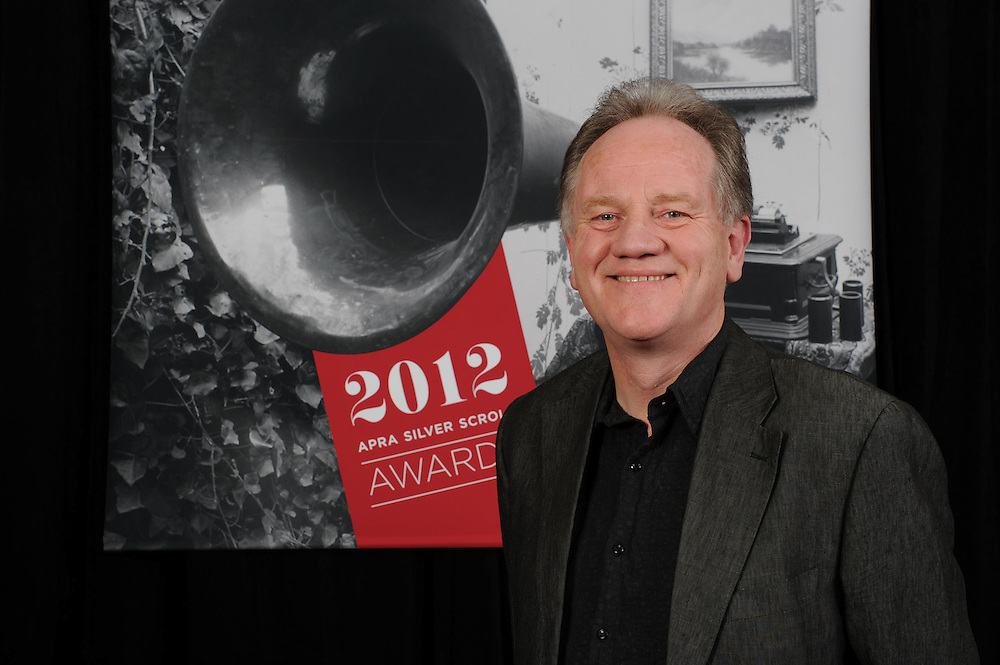 Kenneth Young, finalist at of the Sounz Contemporary Award at the APRA Silver Scrolls Awards 2012. Auckland Town Hall. 13 September 2012.