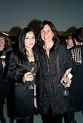 STEFANIA ALAFACI; SIMONA BARONI, Ron Arad; Restless. Cocktail reception hosted by Kate Bush of the Barbican and Tony Chambers of Wallpaper magazine. Barbican art Gallery. London. 17 September 2010
